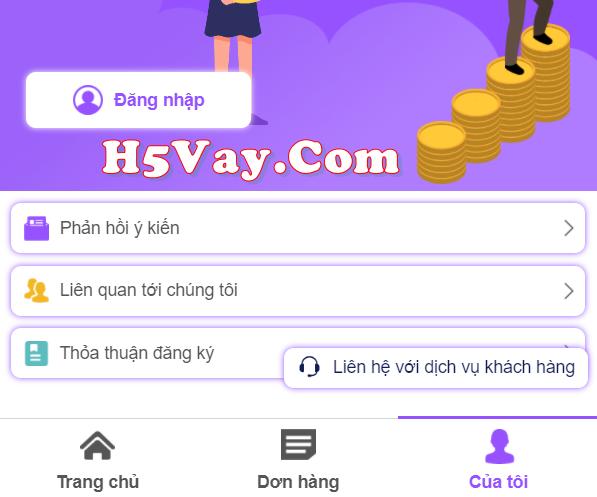 H5 Vay Tiền là hình thức gì vậy?