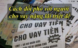 cach doi pho voi bon cho vay nang lai to chuc tin dung den
